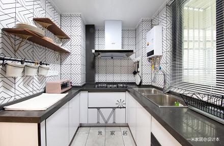 质朴90平北欧二居设计效果图二居北欧极简家装装修案例效果图