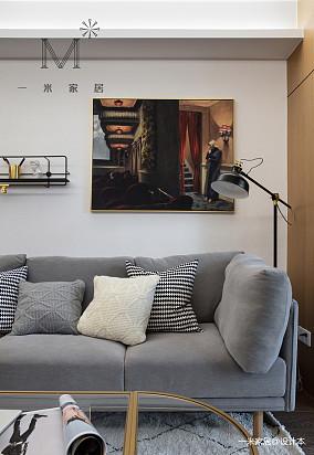 悠雅83平北欧二居装潢图二居北欧极简家装装修案例效果图