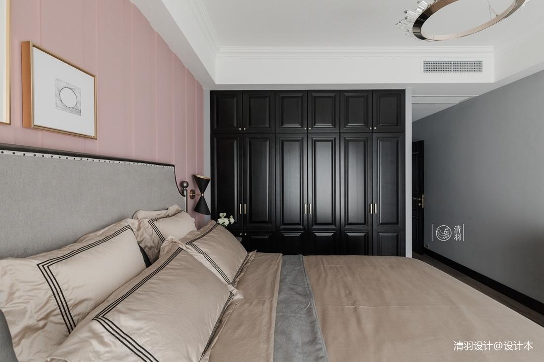 平混搭三居卧室效果图欣赏卧室