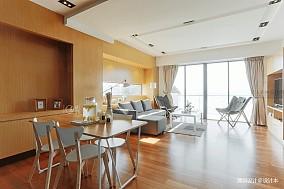 华丽22平混搭小户型客厅设计案例一居潮流混搭家装装修案例效果图