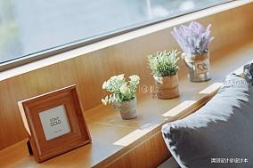 轻奢35平混搭小户型客厅设计效果图