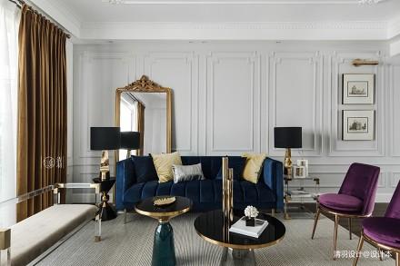 精美30平法式小户型客厅装修图片