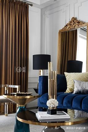 明亮29平法式小户型客厅图片大全一居欧式豪华家装装修案例效果图