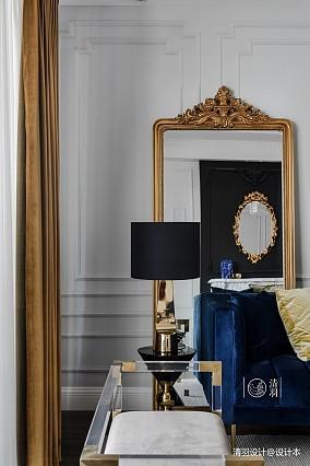 温馨37平法式小户型客厅设计美图一居欧式豪华家装装修案例效果图