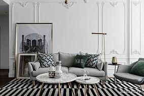 平法式小户型客厅实景图一居欧式豪华家装装修案例效果图