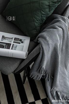 典雅21平法式小户型客厅装修设计图一居欧式豪华家装装修案例效果图