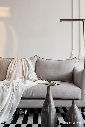 精致35平法式小户型客厅装修美图一居欧式豪华家装装修案例效果图