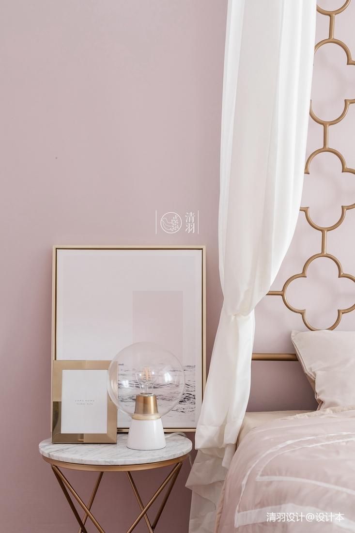 精致37平法式小户型儿童房实景图卧室欧式豪华卧室设计图片赏析