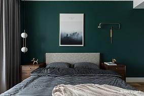 精美36平法式小户型卧室设计效果图一居欧式豪华家装装修案例效果图
