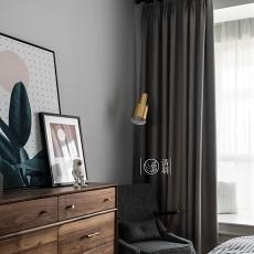 明亮31平法式小户型卧室实拍图