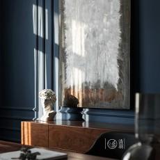 优雅29平法式小户型卧室装饰图