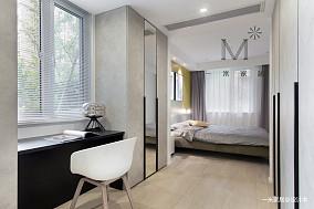 浪漫124平现代三居卧室效果图欣赏三居现代简约家装装修案例效果图