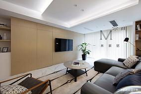 【一米家居】静.境130m²现代简约三居现代简约家装装修案例效果图