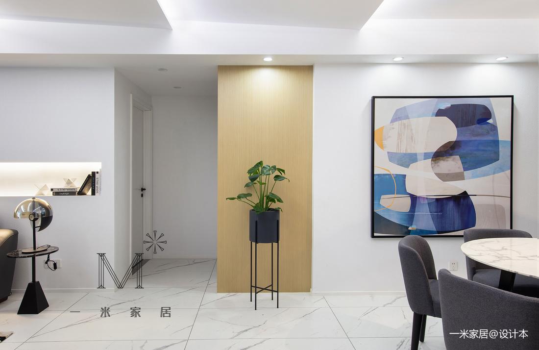 质朴130平现代三居客厅装修图片三居现代简约家装装修案例效果图