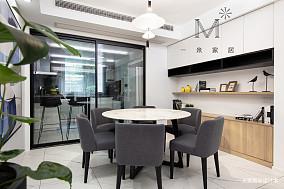 明亮91平现代三居客厅装潢图三居现代简约家装装修案例效果图