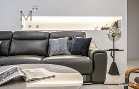 明亮109平现代三居效果图欣赏三居现代简约家装装修案例效果图