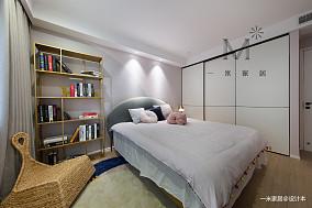 精致126平现代三居实景图三居现代简约家装装修案例效果图