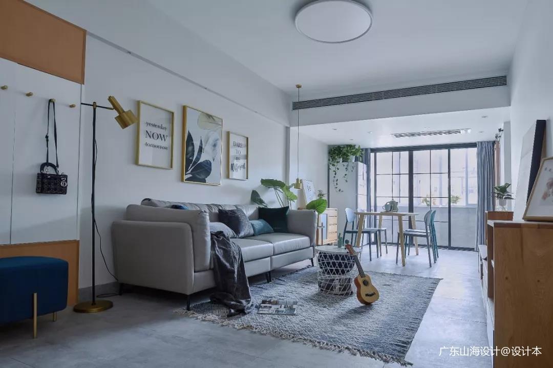 精致80平宜家三居客厅装修图客厅现代简约客厅设计图片赏析