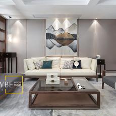 质朴763平中式别墅客厅图片欣赏