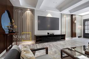 精致551平中式别墅设计效果图别墅豪宅中式现代家装装修案例效果图