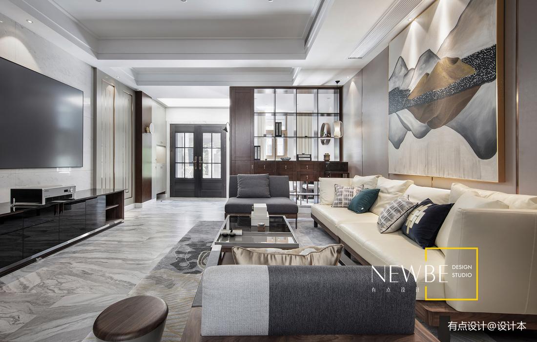 优美400平中式别墅案例图别墅豪宅中式现代家装装修案例效果图
