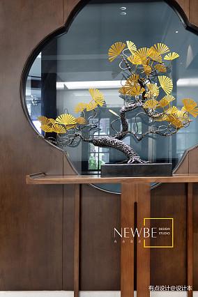 明亮454平中式别墅实景图片别墅豪宅中式现代家装装修案例效果图