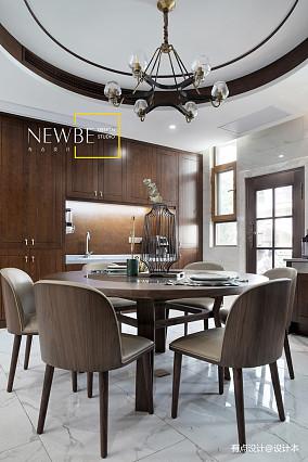 温馨575平中式别墅客厅装饰美图别墅豪宅中式现代家装装修案例效果图