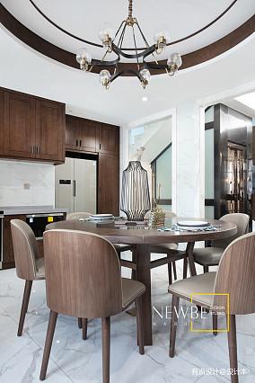 优美320平中式别墅效果图片大全别墅豪宅中式现代家装装修案例效果图