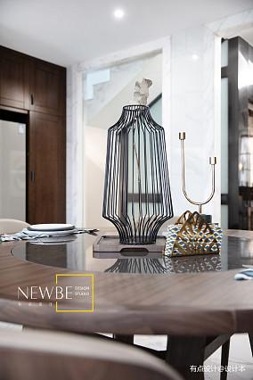 温馨399平中式别墅效果图别墅豪宅中式现代家装装修案例效果图