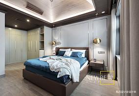 精致893平中式别墅客厅装潢图别墅豪宅中式现代家装装修案例效果图