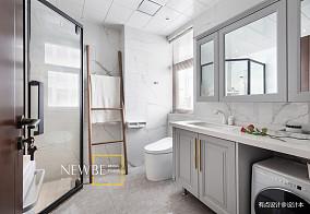 中式风格浴室设计图别墅豪宅中式现代家装装修案例效果图
