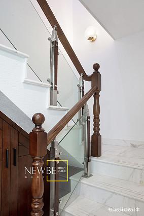 浪漫315平中式别墅装修效果图别墅豪宅中式现代家装装修案例效果图
