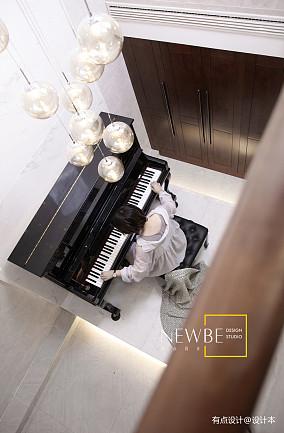 大气604平中式别墅设计案例别墅豪宅中式现代家装装修案例效果图