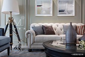质朴135平美式四居设计美图四居及以上美式经典家装装修案例效果图