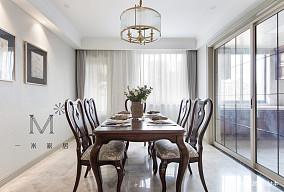 轻奢149平美式四居客厅实拍图四居及以上美式经典家装装修案例效果图