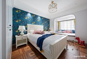 轻奢127平美式四居装修设计图四居及以上美式经典家装装修案例效果图