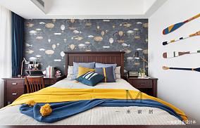 轻奢116平美式四居装饰图片四居及以上美式经典家装装修案例效果图
