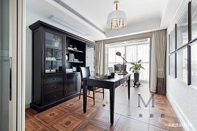 典雅110平美式四居客厅效果图欣赏四居及以上美式经典家装装修案例效果图