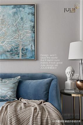简洁99平北欧三居客厅装修美图
