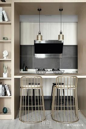 悠雅24平现代小户型厨房效果图欣赏
