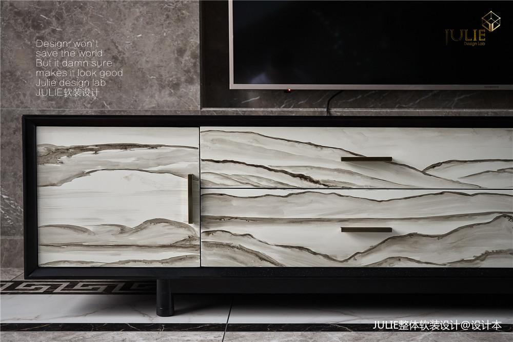 质朴926平中式别墅客厅装修装饰图客厅中式现代客厅设计图片赏析