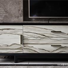 质朴926平中式别墅客厅装修装饰图
