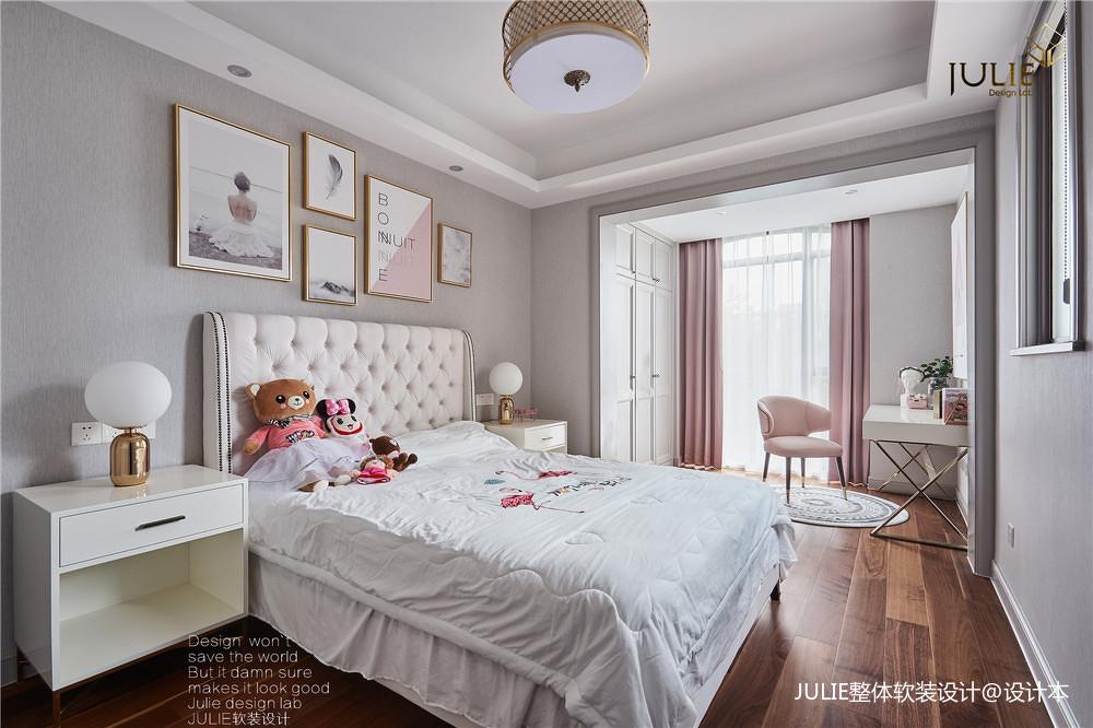 悠雅704平中式别墅儿童房效果图欣赏卧室中式现代卧室设计图片赏析