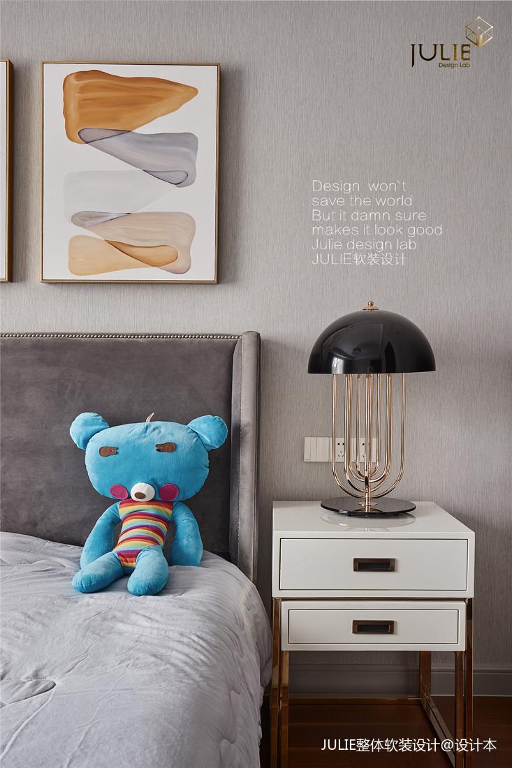 悠雅365平中式别墅儿童房案例图卧室中式现代卧室设计图片赏析