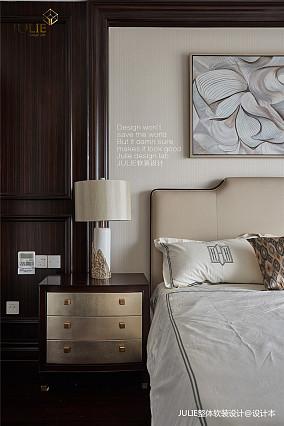 悠雅50平美式复式卧室装修设计图