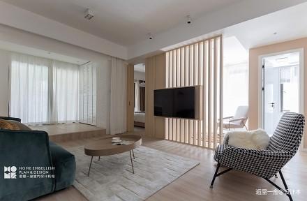 201998平日式三居客厅装饰美图