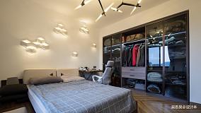 典雅20平混搭小户型卧室装修案例81-100m²一居潮流混搭家装装修案例效果图