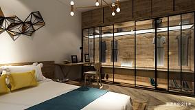 平混搭小户型实景图81-100m²一居潮流混搭家装装修案例效果图