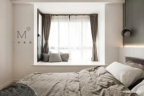 精致75平现代二居美图二居现代简约家装装修案例效果图