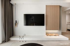 明亮68平现代二居设计案例二居现代简约家装装修案例效果图